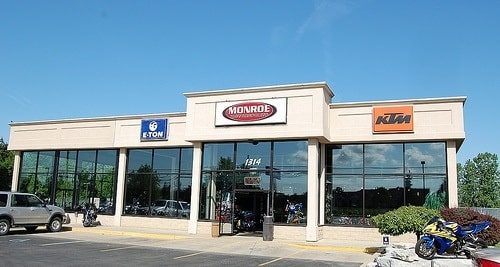 Monroe Motorsports Store Front